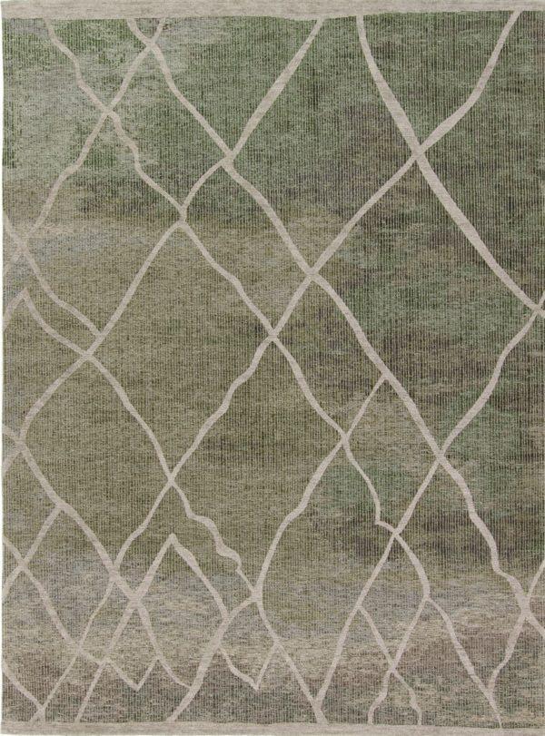 Atelier 29 tapijten rabat taupe groen