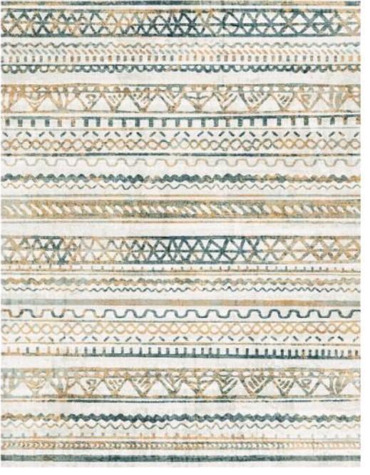 Atelier 29 tapijten Arabesque blauw