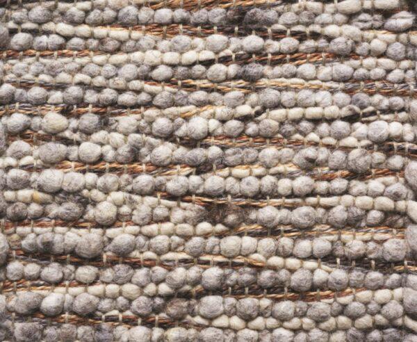 Atelier 29 tapijten Nancy bruingrijs